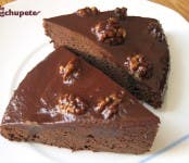 Receta de Brownies de naranja y nueces