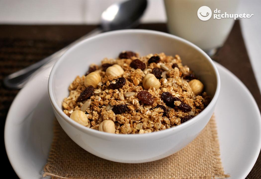 C mo hacer granola casera recetas de rechupete recetas for Comidas caseras faciles