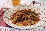 Receta de acelgas con bacon y tomate
