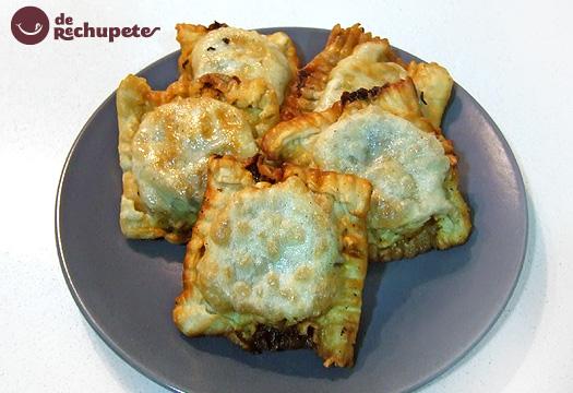 Receta de Empanadillas de pollo y setas