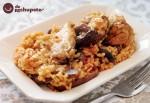 Receta de arroz con pollo y verduras