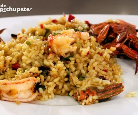 Arroz con nécoras