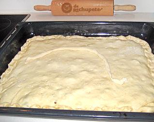 Empanada antes de hornear