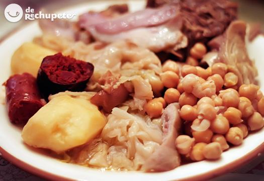 Cocido gallego. Receta tradicional gallega para triunfar en familia