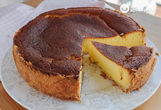 Tarta de queso alemana. kasekuchen en Käsekuchen (tarta de requesón)