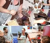 Imagen de Ana Mayer enseñándonos la auténtica cocina italiana