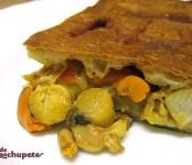 Receta de empanada de zamburiñas
