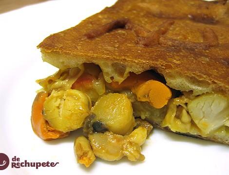 Empanada de Zamburiñas a la gallega