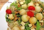 Receta de ensalada de brotes de espinacas