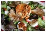 Receta de ensalada de setas
