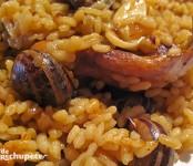 Receta de arroz con caracoles