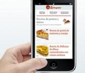 Imagen de versión móvil de recetasderechupete.com