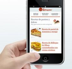 Lanzamiento de recetasderechupete.com versión móvil