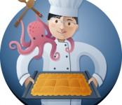 Alfonso y la empanada de pulpo