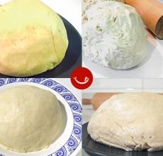 Tipos de masa de Empanada gallega