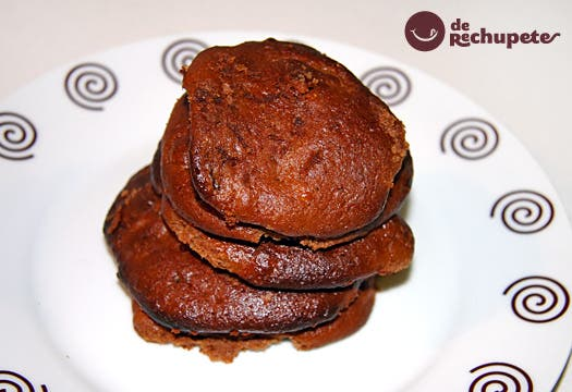 Receta de galletas de chocolate y plátano