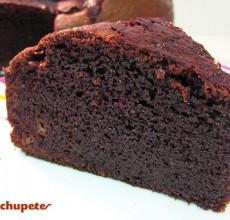 Brownies de chocolate y plátano. Receta fácil paso a paso