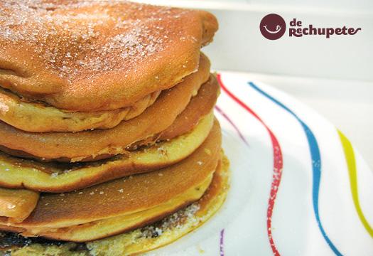 Receta de pancakes o tortitas