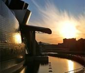 Imagen de visita al Guggenheim