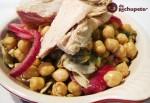 Receta de ensalada de garbanzos con ventresca