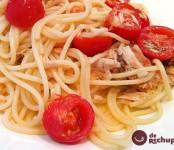 Receta de Spaguetti al vino blanco