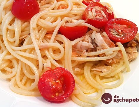 Spaghetti dell'Ubriacone o borrachos en godello blanco
