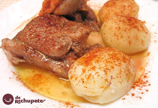 Carne ó Caldeiro. Receta tradicional gallega paso a paso.