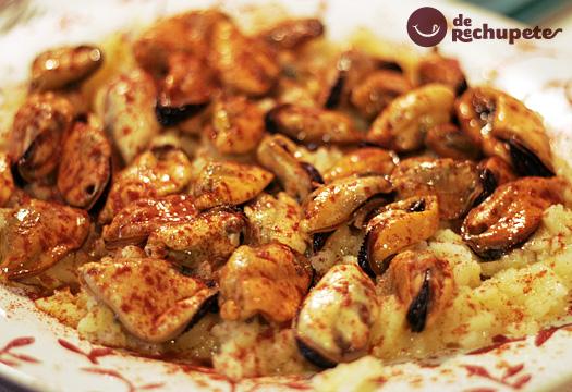 Mejillones en salsa de Ribeiro
