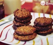 Receta de galletas de avellana y chocolate