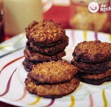 Galletas de avellana y chocolate. Receta cookies