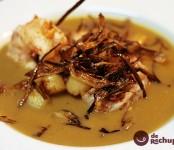 Receta de crema de marisco con zamburiñas