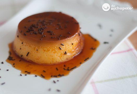 Como se hace el flan de vainilla y chocolate