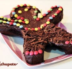 Receta de brownie o tarta de cumpleaños