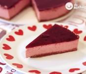 Receta de tarta de fresas con yogurt