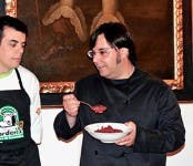 Imagen de gastronomía cacereña en Galicia