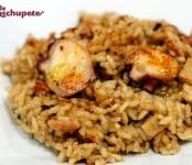 Receta de risotto de pulpo