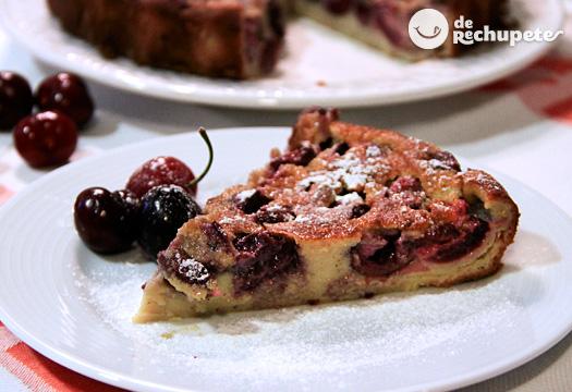 Clafoutis o tarta de cerezas