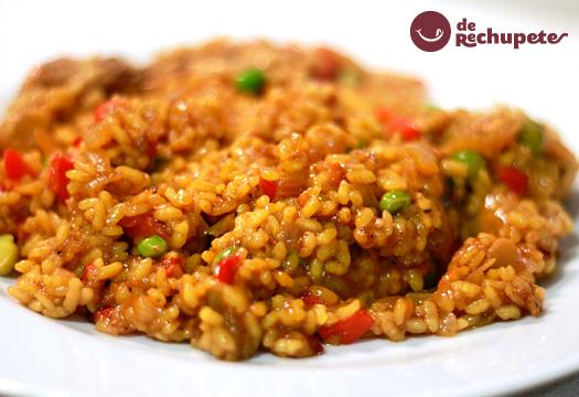 Arroz con verduras arroz viudo - Arroz con pescado y verduras ...