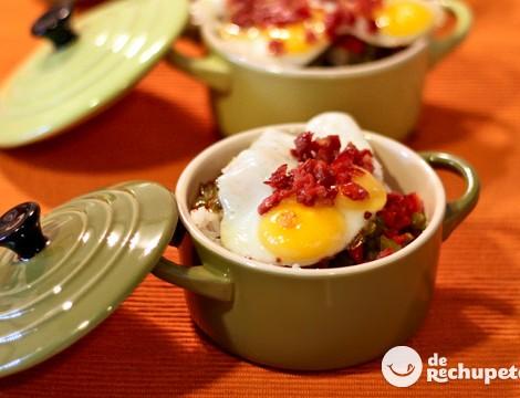 Arroz con huevos de codorniz