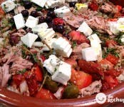 Receta de ensalada murciana o mojete