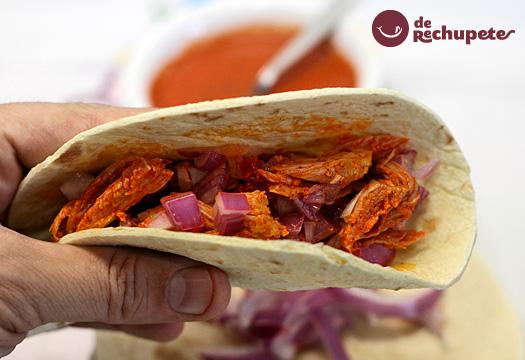 Tacos de cochinita Pibil. Receta mexicana