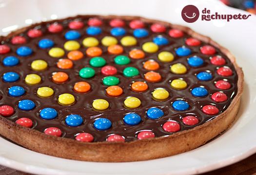 Tarta de chocolate. Postre francés