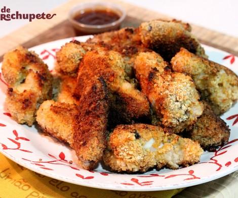 Alitas de pollo crujientes al horno