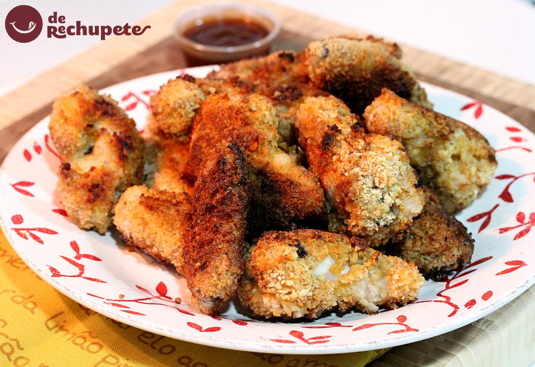 Alitas de pollo crujientes al horno - Adobo de alitas de pollo ...