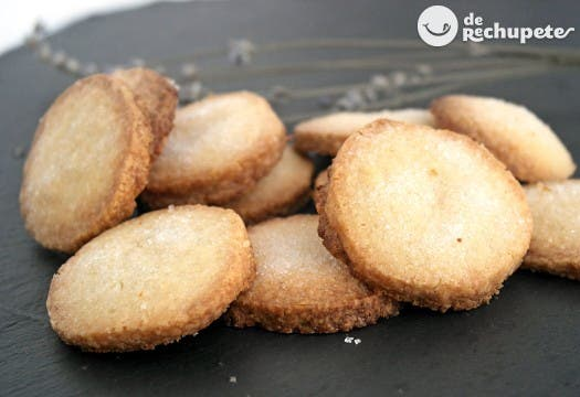 Galletas de mantequilla caseras
