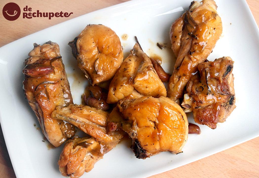 Pollo al ajillo receta casera y f cil for Como cocinar 5 kilos de arroz