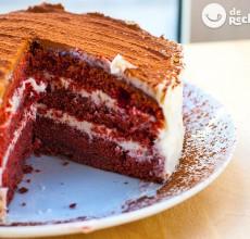 Red Velvet cake o Tarta terciopelo rojo