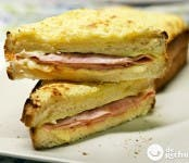 Receta de sandwich Croque-Monsieur