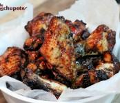 Receta de alitas de pollo con soja y miel