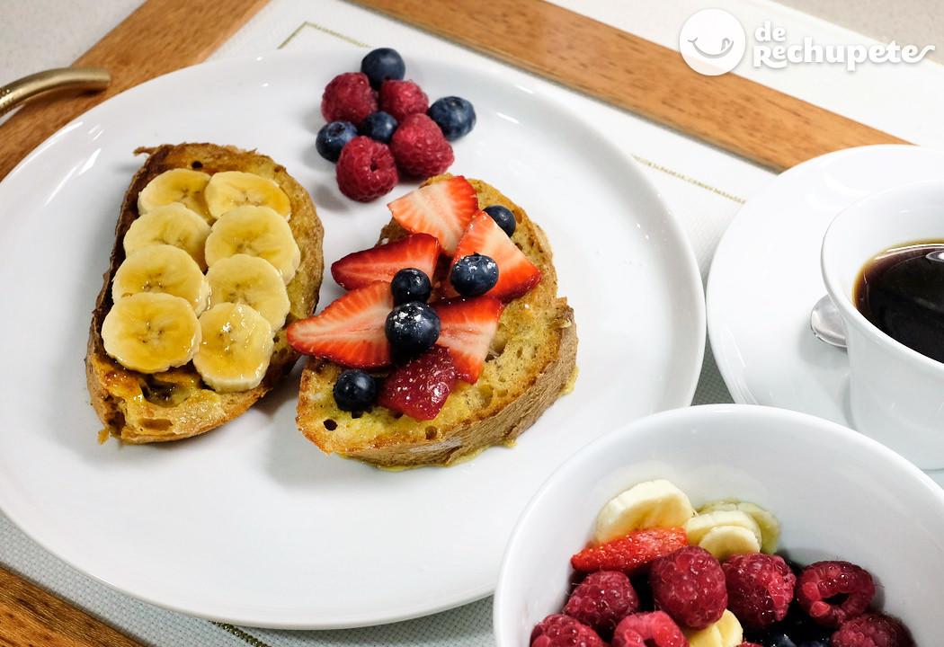 Tostadas francesas o french toasts un desayuno especial for Tapas francesas